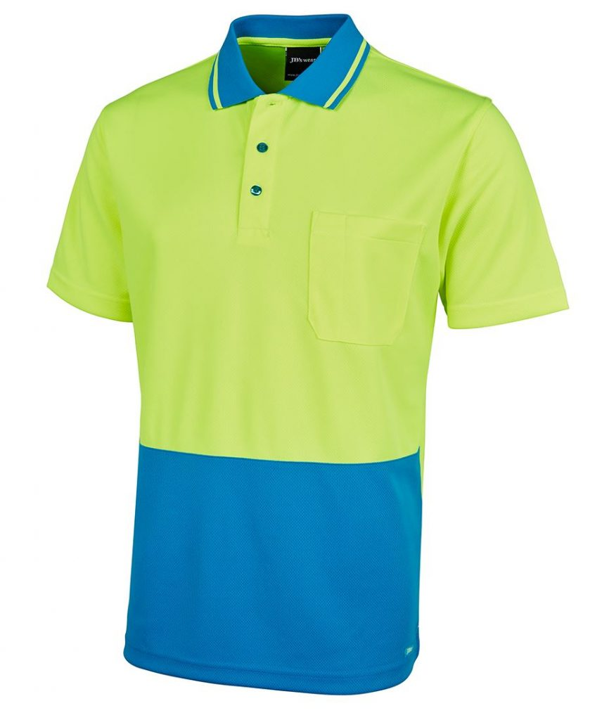 Mens Non Cuff Traditional Polo