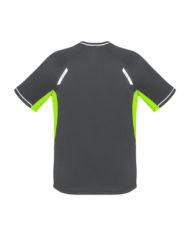 Kids Renegade T-shirt_T701MS_GreyFluoroLime_Back