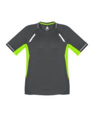 Kids Renegade T-shirt_T701MS_GreyFluoroLime_Front