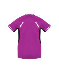 Team Apparel Ladies Renegade T-Shirt T701LS_MagentaBlack_Back