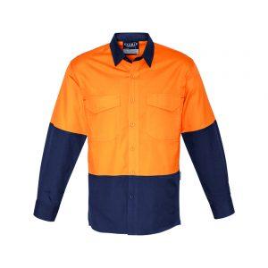 Mens Spliced Rugged Shirt